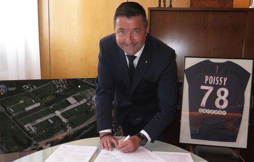 CAMPUS PSG : le permis de construire signé
