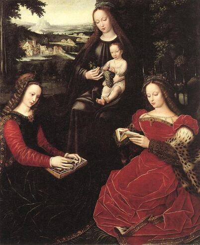 05 - Femmes lisant - Peintures