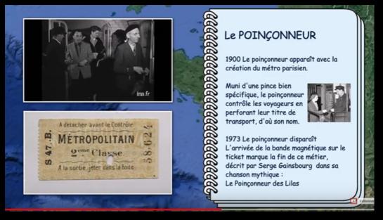 Le métro parisien en 1950