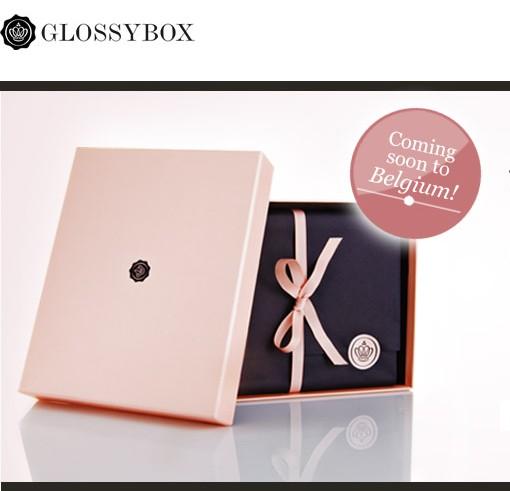 ღ GlossyBox démarque en Belgique!