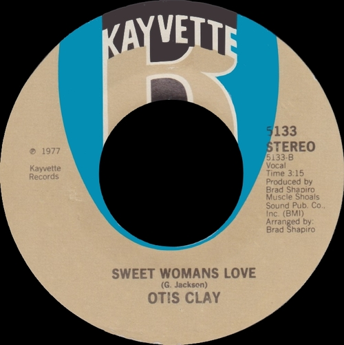 "Otis Clay : Album "" I Can't Take It "" Hi Records HLP-6003 [ US ]"