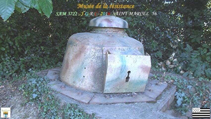 MUSÉE DE LA RÉSISTANCE   2/8    SAINT MARCEL  56      D   03/11/2016