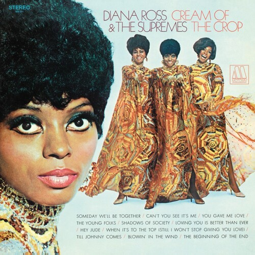 """Diana Ross & The Supremes : Album """" Cream Of The Crop """" Motown Records MS 694 [ US ]"""