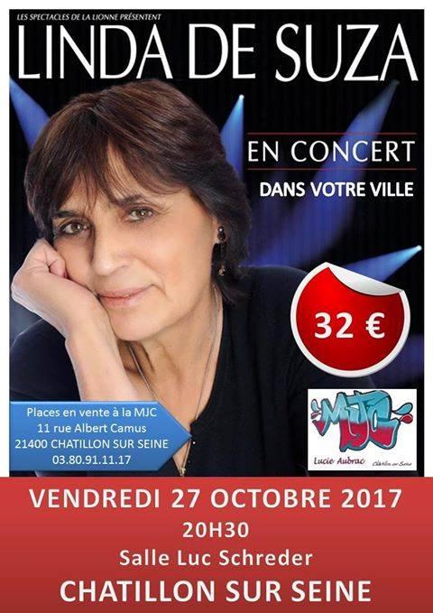 Linda de Suza bientôt en concert à Châtillon sur Seine !