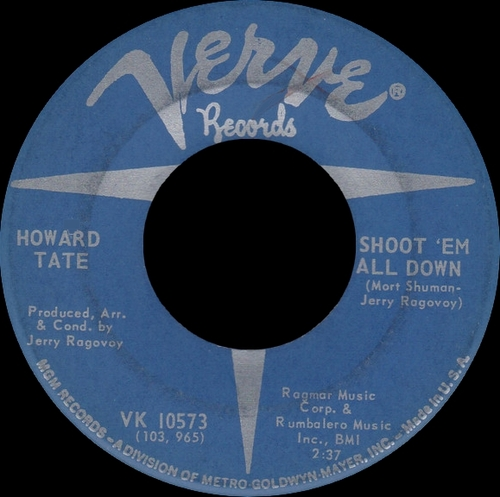 "Howard Tate : Album "" Get It While You Can "" Verve Records V6-5022 [ US ]"