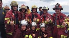 Un grand défi bien accompli pour 5 pompiers de Lambton.