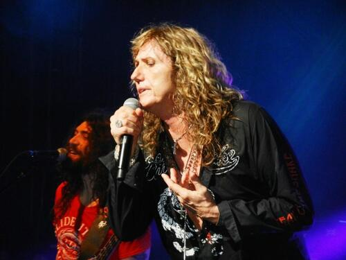 David Coverdale et Michael Devin
