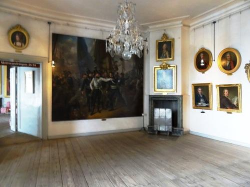 Photos de l'intérieur du çâteau de Gripsholm en Suède (photos)