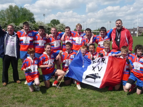 Finale térritoriales -15 à Roubaix Dimanche 13 Mai.