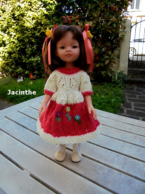 Jacinthe et sa jolie robe !