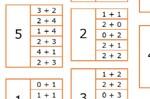 Jeu de cartes Répertoire additif jusque 9
