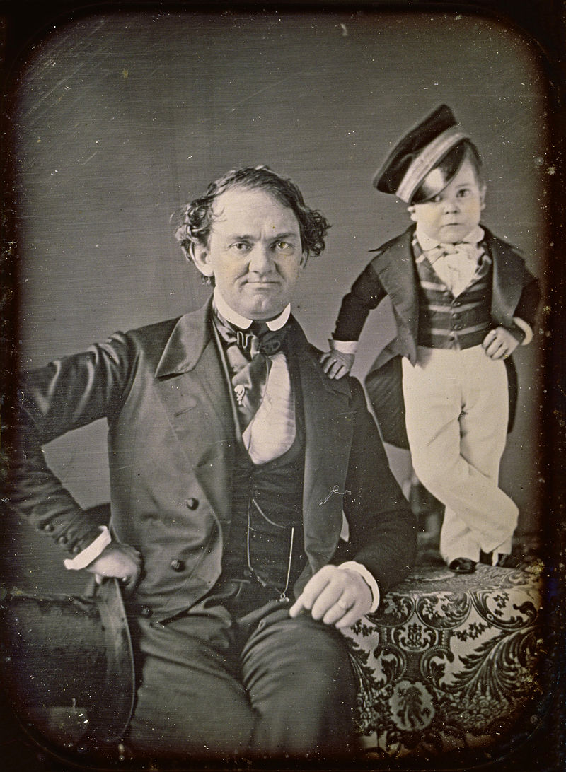Samuel Root or Marcus Aurelius Root - P.T. Barnum and General Tom Thumb -