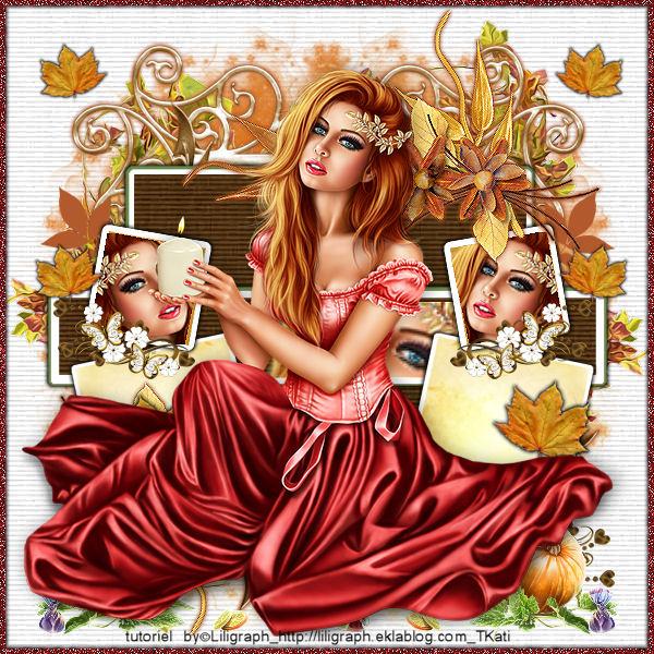 Fée d'automne by Lili Graph