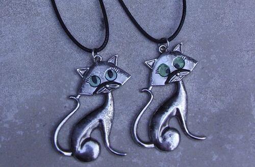 Les bijoux sur le thème du chat