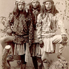 Three Apache Brothers. 1880s. Photo by A. Miller. Source - National Anthropological Archives
