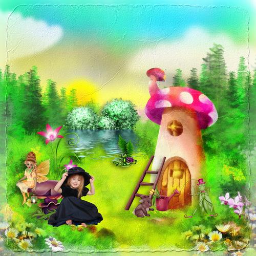 Fantasy woods de Desclics