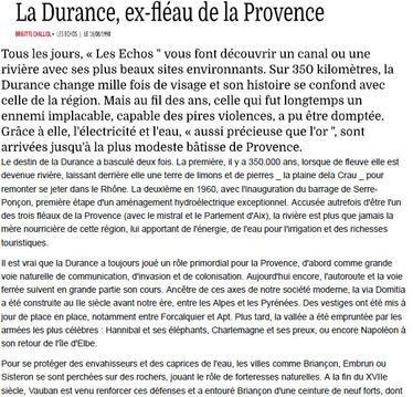 La Durance ...