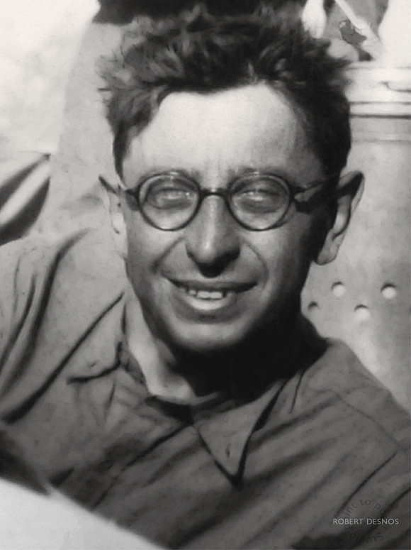 Robert Desnos, photo, poete