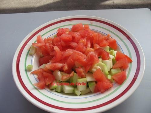 Flan de légumes du soleil