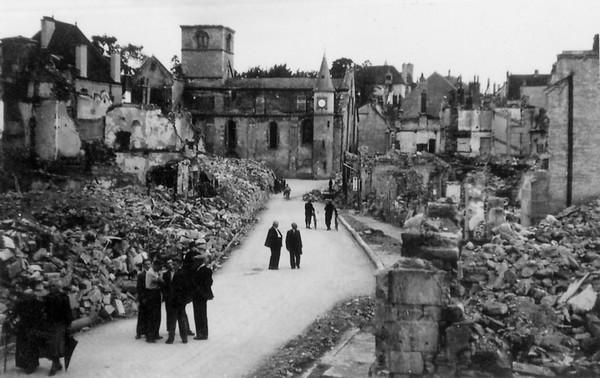 Les Amis du Châtillonnais présentent une très belle exposition sur le bombardement de Châtillon sur Seine en 1940