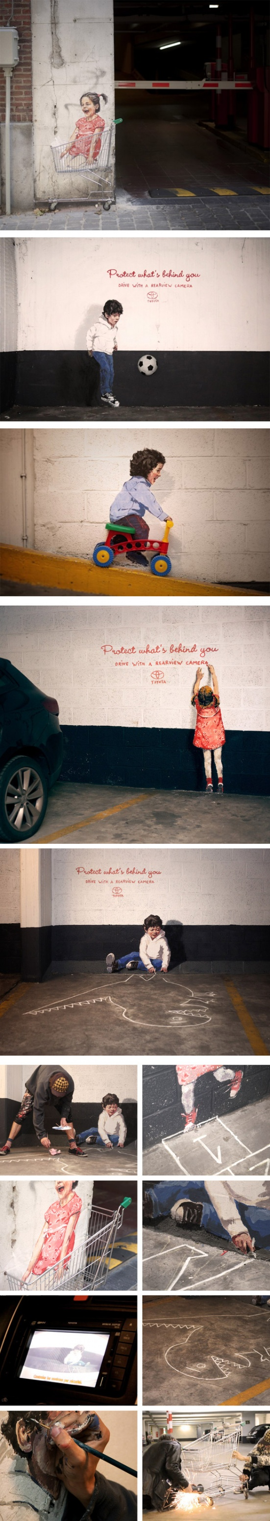 Ernest Zacharevic - Protect what s behind you