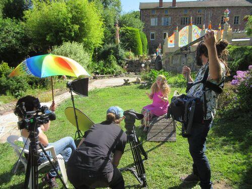 Ombrelle de tournage