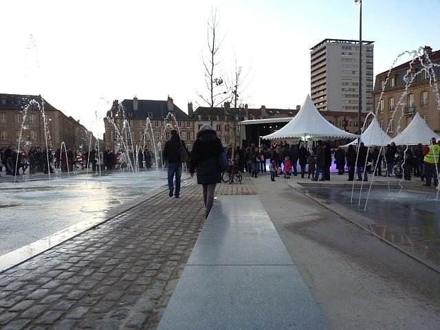 Inauguration de la place Mazelle de Metz 14 Marc de Metz 0