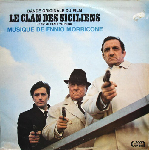 LE CLAN DES SICILIENS - ALAIN DELON BOX OFFICE 1969
