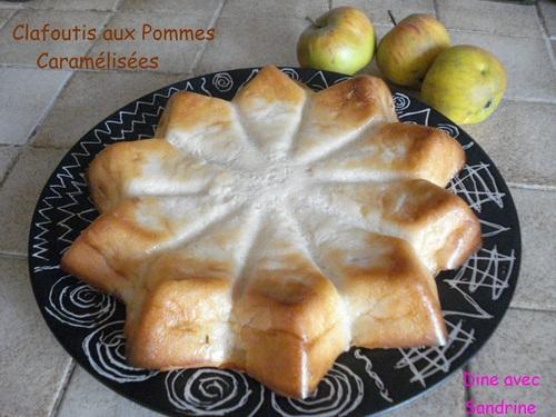 Un Clafoutis aux Pommes Caramélisées