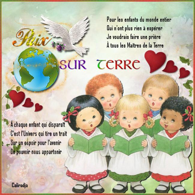 """""""Pour les enfants du monde entier"""" Y Duteil"""