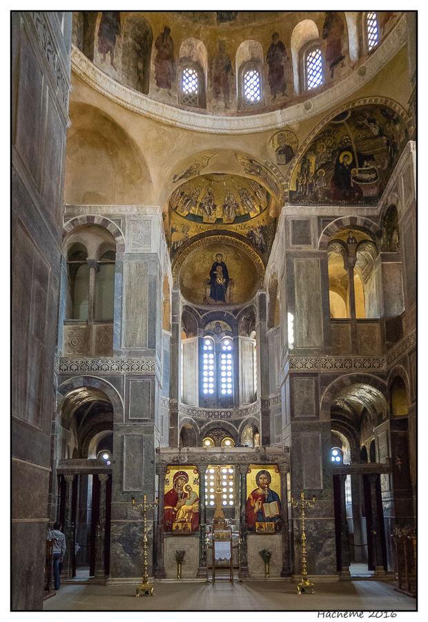 Intérieur de l'église St-Luc