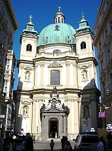Peterskirche Vienna Sept 2006 001