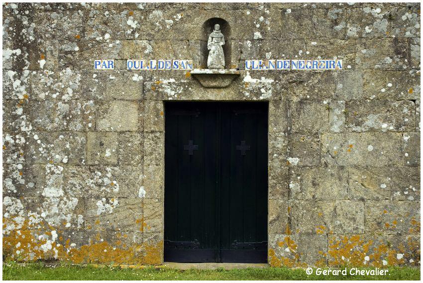 Camino para Fisterra # 8 - Negreira - Iglesia de San Julian.