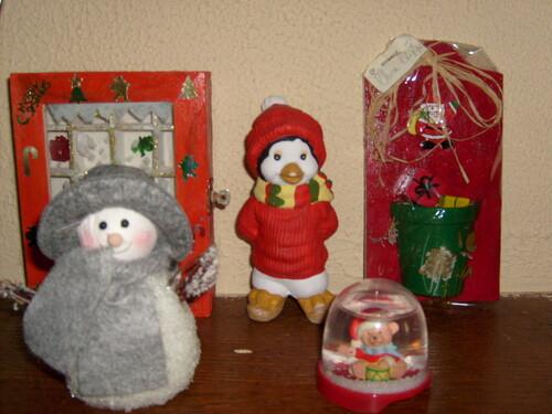 Décos de Noel ...