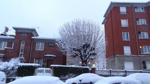 L' hiver s' installe !