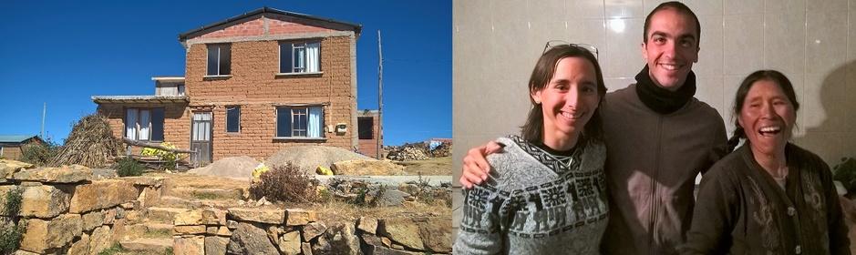 Alicia et sa maison en torchi