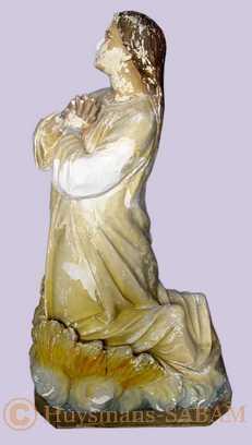 Statue en cours de restauration - Arts et sculpture: artistes peintres, sculpteurs