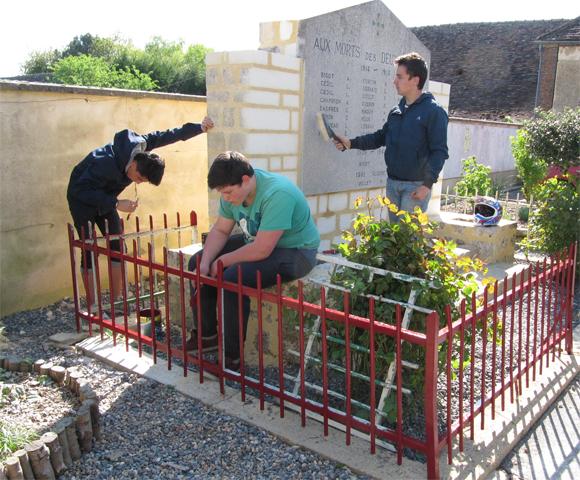 Commémoration cantonale du 8 mai à Bellou-le-Trichard