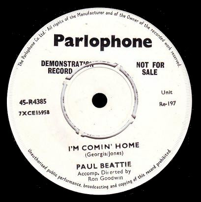 Paul Beattie - I'm Coming Home