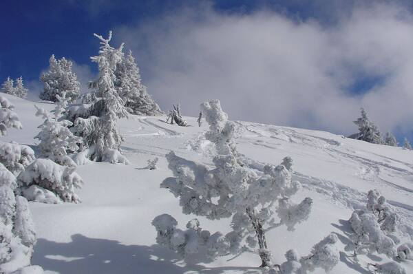La Haute-Savoie sous la neige