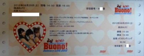 Ticket Concert Buono !