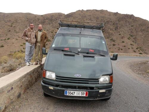 En route pour Agadir