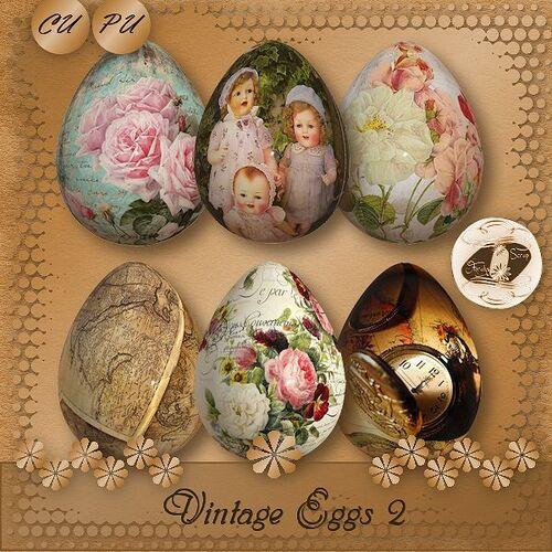 CU/PU Vintage Eggs 2
