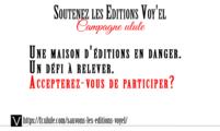 Soutien aux éditions Voy'el