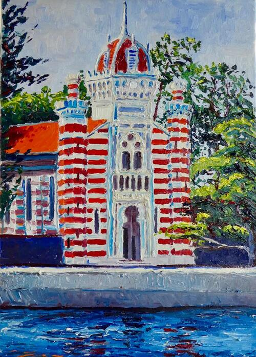 chapelle algérienne - Thomas Grotsky