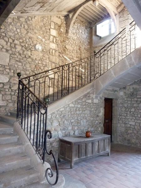 L'escalier des dortoirs