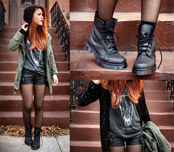 Inspirations tenues style rock ✖
