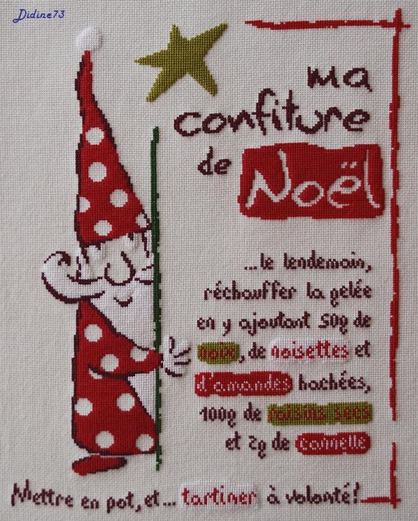 """Sal """"Ma confiture de Noël"""" - étape 6"""
