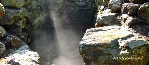 La fontaine de Barenton