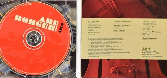 "Ari Borger Quartet : CD "" AB4 "" ST2 Records ST2 50104 [ BR ]"